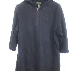 Ralph Lauren Hooded Long Sweater Dress
